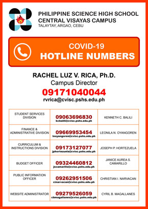 covid19 hotline numbers pshscvisc 290px